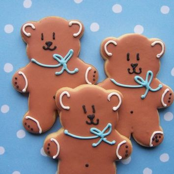 Teddy Bear Cookies 1 dozen