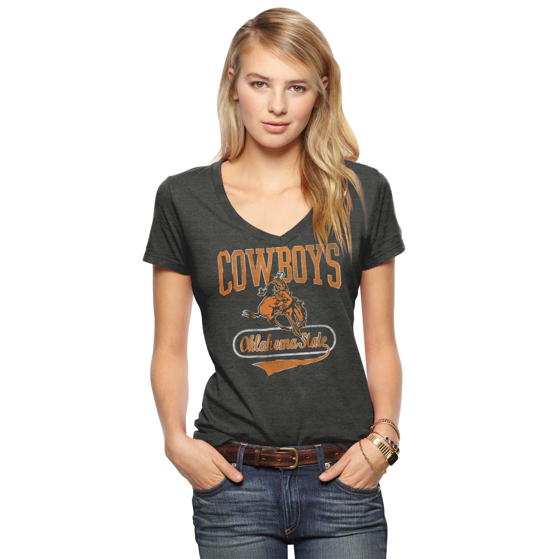 Oklahoma State Women S T Shirt From Tailgate Clothing