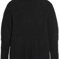 Ann Demeulemeester - Oversized ribbed alpaca-blend sweater