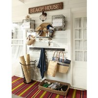 Ames Stripe Recycled Yarn Indoor/Outdoor Rug