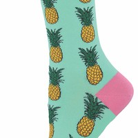 Pineapple Women's Crew Socks