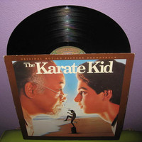 Vinyl Record Album The Karate Kid Original Soundtrack LP 1984 Teen Classic