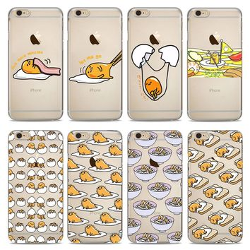 Gudetama Transparent Phone Cases