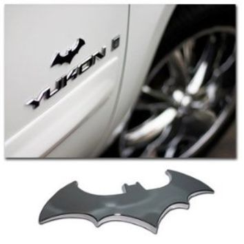 Batman 3d Chrome ABS Car Emblem