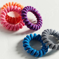 Telephone Cord Ponytail Holder Set - Urban Outfitters