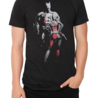DC Comics Arkham City Batman And Harley T-Shirt