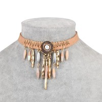 Shiny Gift Jewelry New Arrival Stylish Alloy Korean Necklace [30852415508]