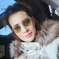 Fashion Small Metal Frame Square Sunglasses Women Brand Designer Vintage Sun Glasses For Women Female Sunglass Optical Glasses
