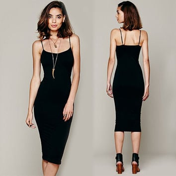 Stretch Bodycon Party Club Slim Dress