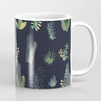 green garden at nigth Mug by franciscomffonseca