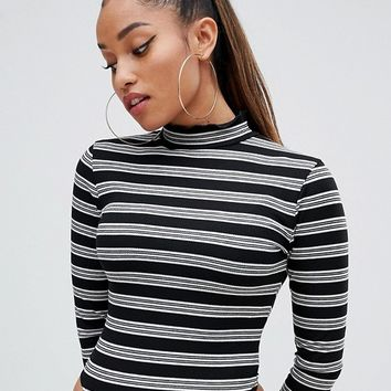Missguided Petite Roll Neck Body | ASOS