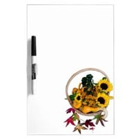 Autumn Basket Dry-Erase Board