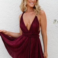 Love Letter Dress (Plum) | Xenia Boutique | Women's fashion for Less - Fast Shipping