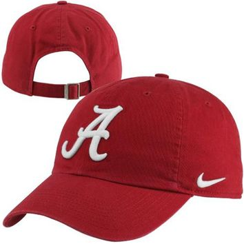 Nike Alabama Crimson Tide Dri-FIT 3D Tailback Adjustable Performance Hat - Crimson