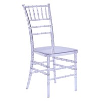 Wadna Dining Chair, Clear