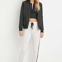Perforated-Stripe Sweatpants