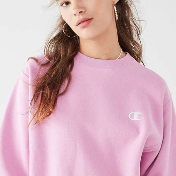 Champion & UO Reverse Weave Pullover Sweatshirt   Urban Outfitters