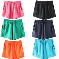 Sweets Cotton Pants Women's Fashion Shorts [6048825537]