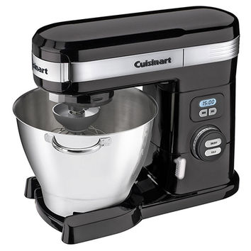 12-Speed Stand Mixer, Black, Mixers & Attachments