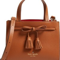 kate spade new york hayes street mini isobel leather satchel | Nordstrom