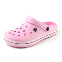 New Summer Women Sandals 2017 New Croc Woman Beach Shoes Hollow Slippers Hole Breathab