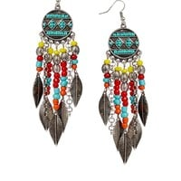 ASOS Festival Chandelier Earrings