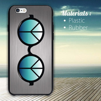 eye glass zero gravity iPhone 4/4S, 5/5S, 5C, 6 Series Hard Plastic Case