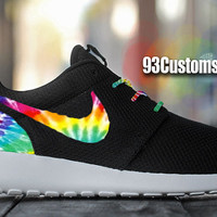 Nike Roshe Run Custom Tie Dye