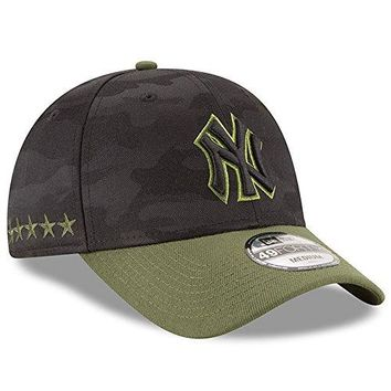 New York Yankees New Era 2018 Memorial Day 49FORTY Fitted Hat Black