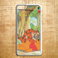 Winnie the Pooh and Tigger  for iphone 4/4s/5/5s/5c/6/6+, Samsung S3/S4/S5/S6, iPad 2/3/4/Air/Mini, iPod 4/5, Samsung Note 3/4, HTC One, Nexus Case*AP*