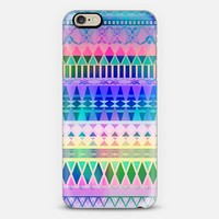 Pastel Fade Away Aztec iPhone 6 case by Organic Saturation | Casetify