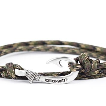 Ground War Fish Hook Bracelet