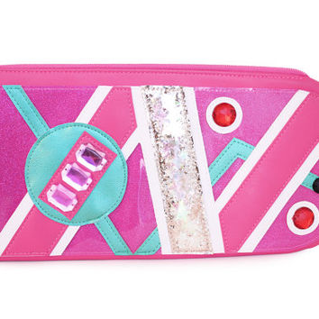 We Don't Need Roads Clutch | Back To The Future Marty McFly Hoverboard Inspired Purse | Geek Chic
