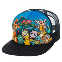 Pokemon - Group Sublimated Snapback Hat
