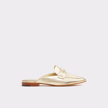 Shahan Gold Women's Oxfords & loafers | ALDO US