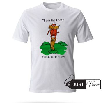 I am the Lorax i speak for the trees T shirt size XS - 5XL unisex for men and women