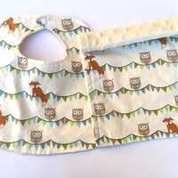 Woodland Personalized Baby Bibs Personalized Baby Burp cloth,Baby boy bibs,baby girl bibs,baby boy burp,baby girl burp,gender neutral,