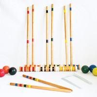 Triumph Sports USA Beginner 6-Player Croquet Set