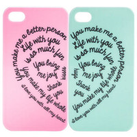 BFF 2pk iPhone Case