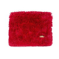 Plush Blanket — Shag Red