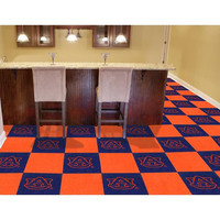 Auburn Tigers Carpet Tiles