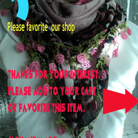 Turkish Scarf- Unique Summer scarf- Cotton Cowl-Shawl Mom Bridesmaid Gift-Bridal Accessories Gift Ideas For Her- Women Fashion Accessories