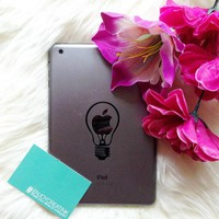Light Bulb iPad Decal