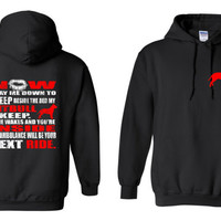 Free Shipping.  Pitbull Now I Lay Me Down To Sleep Beside The Bed My Pitbull I Keep Unisex Hoodie