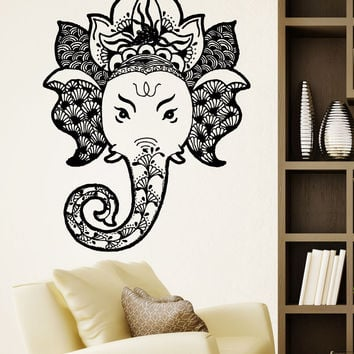 Vinyl Wall Decal Sticker Ganesha #5486