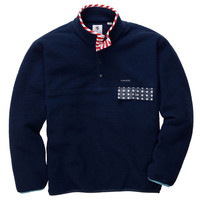 Country Club Prep: Old Glory All Prep Pullover in Navy by Southern Proper