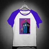 doctor who invader zim 39f5bca3-1590-4cd9-b765-6f0ec8afaae2 For Short Sleeve Raglan Tees Woman, Man XS S M L XL 2XL *02*