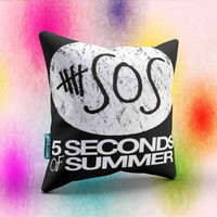 5 Second Of summer 5sos instagram - pillow - merch - pillow design