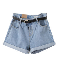 Denim shorts - Nicki - Shorts - Pants & Shorts - Women - Modekungen