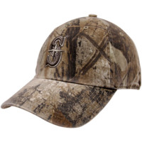 47 Brand Seattle Mariners Real Tree Camo Franchise Fitted Hat